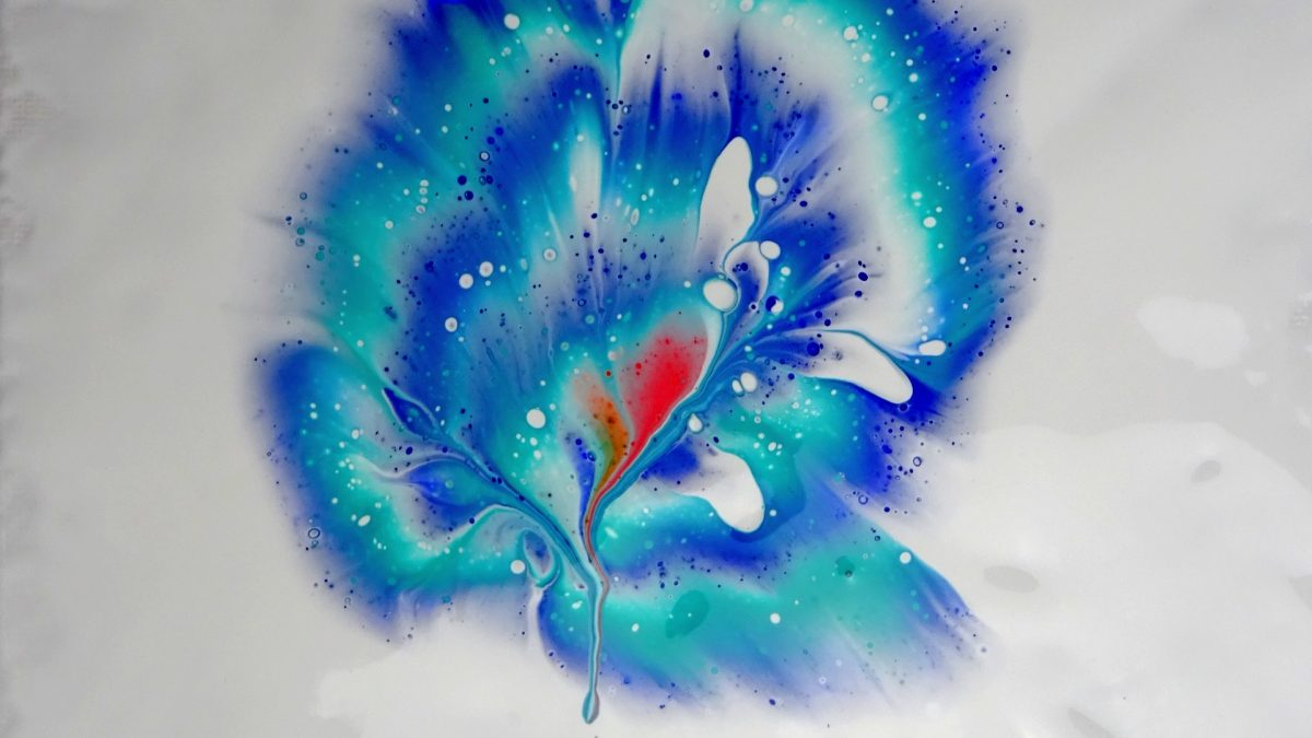 Pouring flor