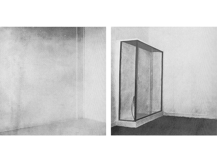 cuadro invisible conceptual